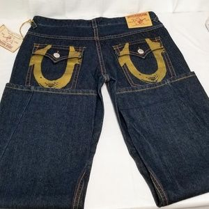Men's True Religion  Jeans dark denim sz 40